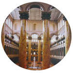 National Building Museum Round Mousepad