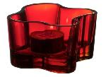 Aalto Red Votive from Iittala