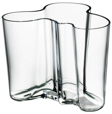 aalto 4.75 vase clear