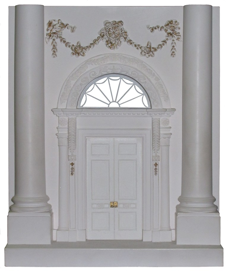 white house door bookend