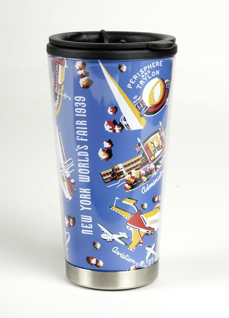 world's fair travel mug