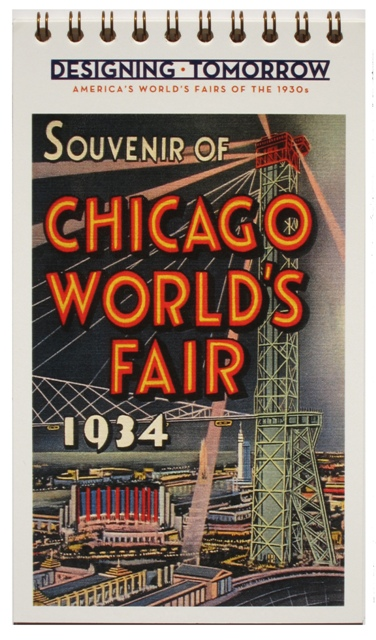 world's fair chicago postcard book