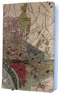 1887 dc map notebook