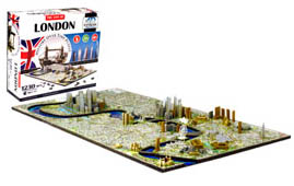london 4d cityscape puzzle