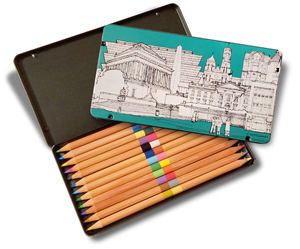 Pencil Set Open