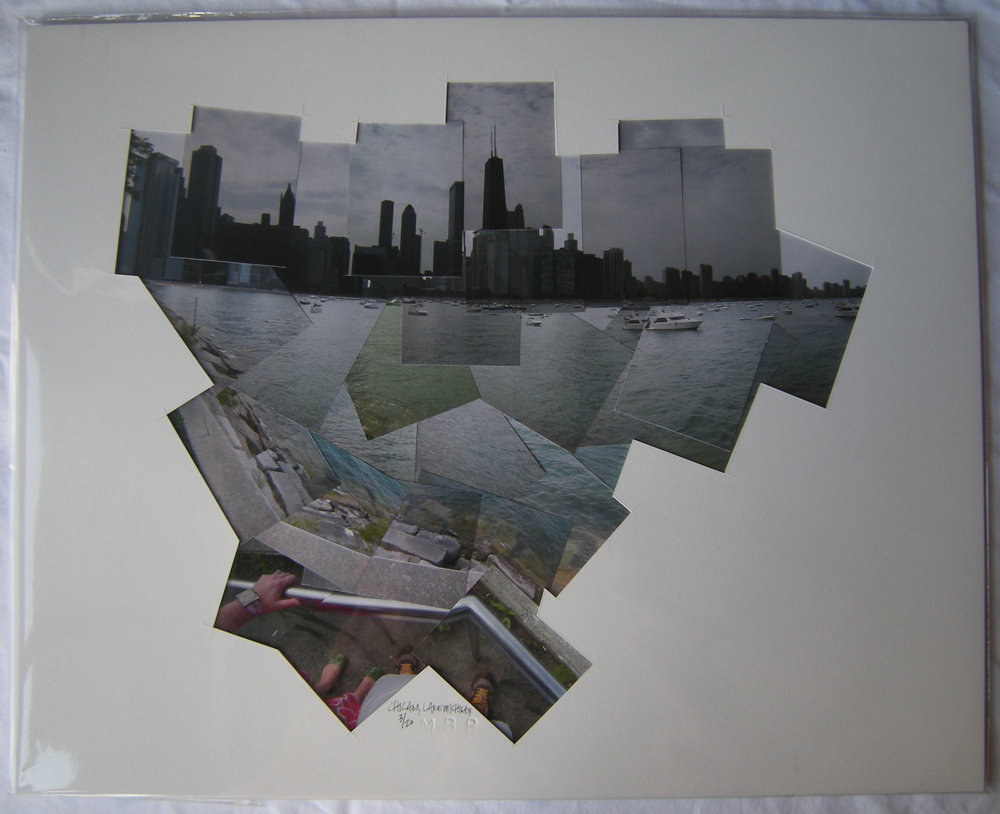 chicago lake michigan 16x20