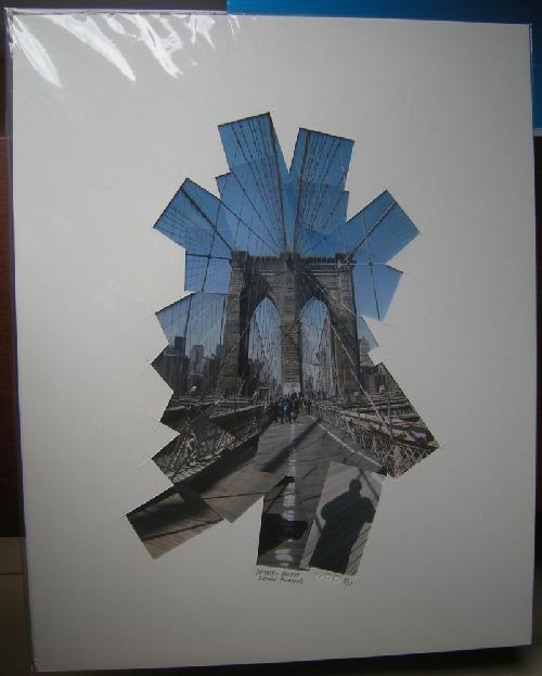 brooklyn bridge 16x20