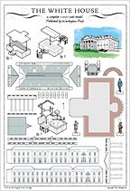 build your own white house postcard