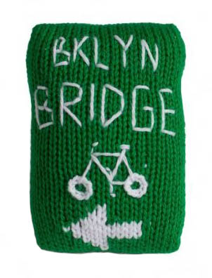 brooklyn bridge bike sign rattle