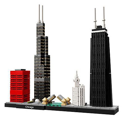 chicago skyline lego set
