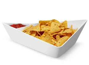 forminimal chip and dip bowl