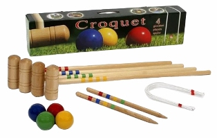 kids croquet set