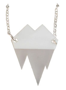 icebergs necklace