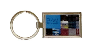 built by women keyring