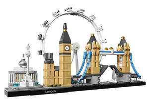 london skyline lego set