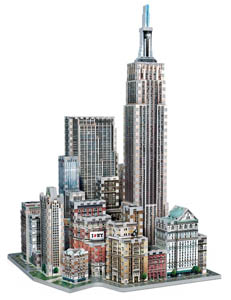 midtown west nyc 3d puzzle