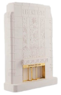 news building facade model