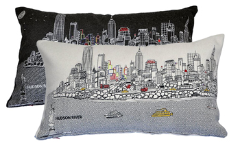 NYC Skyline Pillow