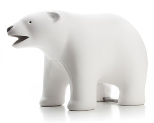 polar bear tape dispenser clip holder