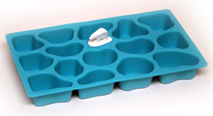 polar ice tray blue