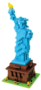 statue of liberty nanoblock