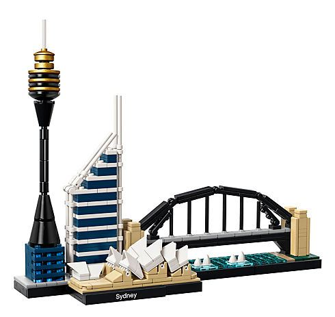 sydney skyline set from lego