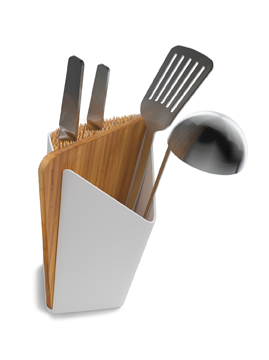 forminimal utensil holder