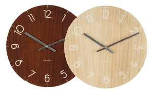 wall clock both finishes