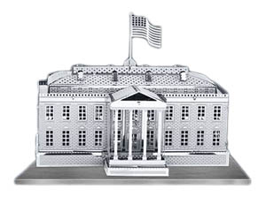white house metal model kit