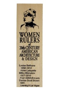 women rulers of arch and design