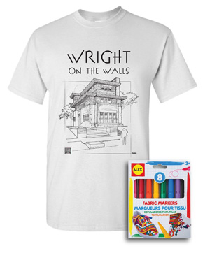 Wright on Walls Tsshirt