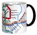 Click here for more information about Washington, D.C. Metro Mug