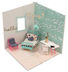 Click here for more information about Swan Dollhouse Dream Room