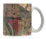 Click here for more information about 1887 Map of Washington D.C. Mug