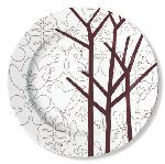 "Click here for more information about Brown Season 12"" Serving Plate"