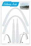 Click here for more information about Build Your Own Gateway Arch Postcard
