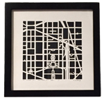 Click here for more information about Handcut Map 401 F St. NW Washington, D.C.
