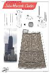 Click here for more information about John Hancock Center Postcard--Build Your Own Chicago