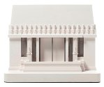 Click here for more information about Hollyhock House Facade Model Small
