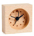 Click here for more information about Mini Wood Alarm Clock