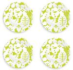 Click here for more information about Green Season Salad Plate Set of Four