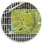 Click here for more information about Central Park Sheep Meadow Garden Plate