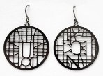 Click here for more information about Washington, D.C. Streetmap Earrings