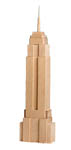 Click here for more information about Empire State Building Wood Block Replica