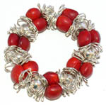 Click here for more information about Elegant Stretchy Red Good Luck Bracelet
