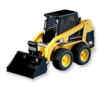 Click here for more information about Skid Steer Loader from Bruder