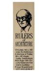Click here for more information about Rulers of Architecture Ruler
