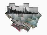 Click here for more information about Chicago Lake Michigan Photo Collage 9x12