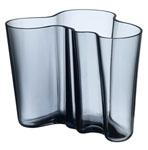 "Click here for more information about Aalto 3.75"" Vase from Iittala-Rain/White"