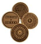 Click here for more information about Northeast Corridor Manhole Cover Coasters